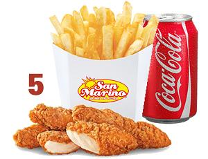Chicken Tenders(4) + Chips + Can