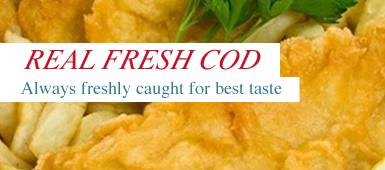 Real Fresh Cod