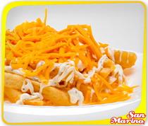 Garlic Chips & Cheese