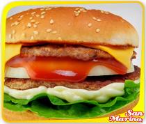 Half Pounder Burger