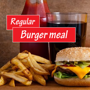 Regular Burger Meal