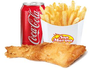 Fish Portion + Chips + Can
