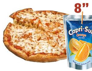 """8""""Pizza Kids Meal"""