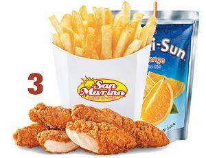 Chicken Tenders(3) kids meal