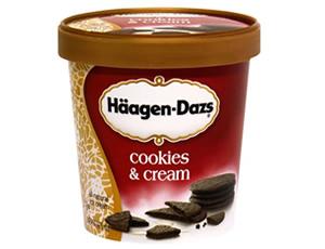 Haagen-Dazs Cookies and Cream 100ML