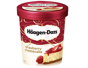Haagen-Dazs Strawberry Cheesecake 100Ml