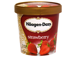 Haagen-Dazs Strawberry Ice Cream 100ML