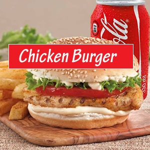 Chicken Fillet Burger Meal