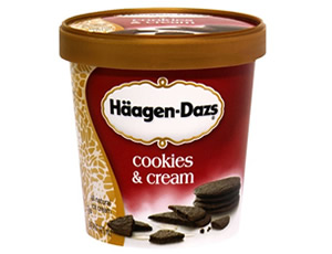 Haagen-Dazs Cookies and Cream 100ML